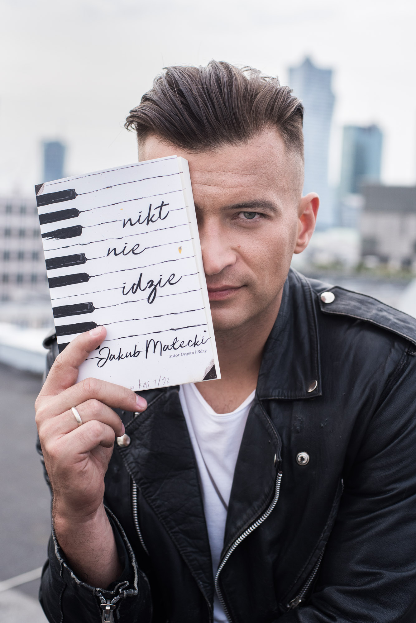 Jakub Małecki pisarz Warszawa 11.09.2018 Fot. Marcin Łobaczewski